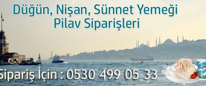 İstanbul'un Her Yerine Mevlüt Pilavı